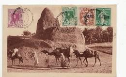6318 UN MARABOUT DANS LE SUD - ALGERIE STAMPS - KALAA ORAN POSTMARK - Postcards