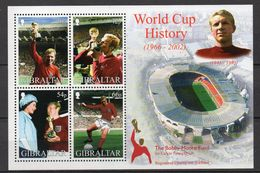 GIBRALTAR  Timbres Neufs ** De 2002 ( Ref 5093 )  Sport - Football - Gibraltar