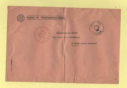 Navire Cablier D'Arsonval - Brest Finistere - 1961 - Marcophilie (Lettres)