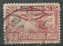 Siam   Aérien  - Yvert N° 5 Oblitéré  -  Cw32013 - Siam
