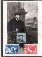 CM Belgique De 1955 - CharlesQuint - Série Complète (à Voir) - 1951-1960