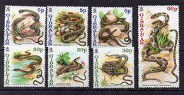 GIBRALTAR  Timbres Neufs ** De 2001 ( Ref 5097 )  Animal - Serpent - Gibraltar