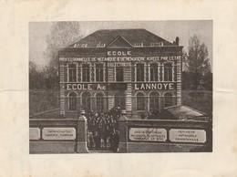 Wavre ,Auguste Lannoye, Ecole Professionnelle Mécanique & Menuiserie ,d'électricité ,( 1 , Avenue Belle Voie ) - Wavre