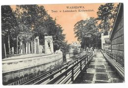 VARSOVIE WARSZAWA (Pologne) Jardin Promenade - Pologne