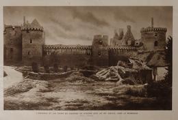 1933 : Le Chateau De SUSCINIO Dans Le Morbihan - Historical Documents
