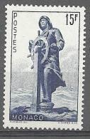 "Monaco YT 351 "" Statue Du Prince Albert 1er "" 1951 Neuf** - Unused Stamps"