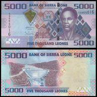 SIERRA LEONE 5000 Leones UNC  P32b - Sierra Leone