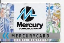 Carte Téléphonique Mercurycard - Royaume-Uni