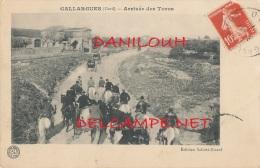30 // GALLARGUES    Arrivée De Toros   Edit Salotti Ricard - Gallargues-le-Montueux