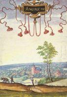 Angre Vue Prise Du Sud-Ouest (Format A4) (Adrien De Montigny - Album De Croÿ) - Honnelles