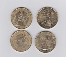 Lot De 4 Medailles - Monnaie De Paris