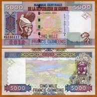 GUINEA 5000 Francs 2012 UNC  P41b - Guinea
