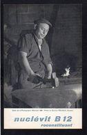 """Publicité Labo Robert & Carrière / """" Le Forgeron"""" Salon De La Photographie 1958.photo Du Docteur Pécheux (Soudan) - Profesiones"""