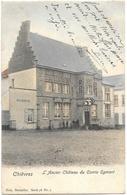 Chièvres NA14: L'Ancien Château Du Comte Egmont 1902 - Chièvres