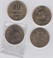 Lot De 4 Medailles 2012 ET 2016- 20132017 - Monnaie De Paris