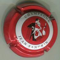 CAPSULE-CHAMPAGNE SANDRIN Jean N°03 Polychrome Rouge - Champagnerdeckel