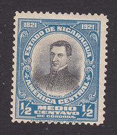 Nicaragua, Scott #401, Mint Hinged, Gen Manuel Jose Arce, Issued 1921 - Nicaragua