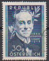 Österreich 1950 Nr.958  O Gest. 100. Geb. Alexander Girardi ( 34 ) Günstige Versandkosten - 1945-.... 2a Repubblica