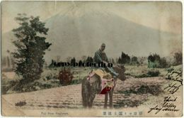 Fuji From Hagiwara, (Mount Fuji), Alte Postkarte 1909, Briefmarke Kiautschou, Stempel Tsingtau - Sonstige