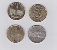 Lot De 4 Medailles 2014 ET 2016- - Monnaie De Paris