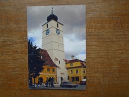 Roumanie , Sibiu / Hermannstadt , Turnul Sfatului - Romania