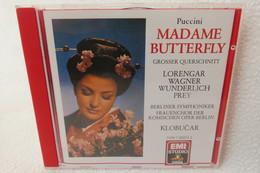 """CD """"Puccini"""" Madame Butterfly, Großer Querschnitt - Opera"""