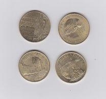 Lot De 4 Medailles 2015 ET 2016- - Monnaie De Paris
