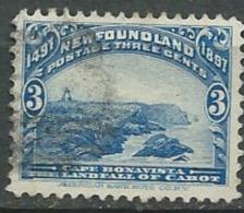 Terre Neuve    -- Yvert N°   50 Oblitéré  -  Cw32139 - 1865-1902