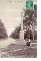 Cpa Le Perray La Croix St Jacques Année 1908 - Le Perray En Yvelines