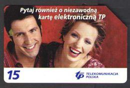 ТЕЛЕФОННАЯ КАРТА ПОЛЬША 15 - Phonecards
