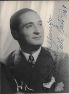 CARLO BUTI AUTOGRAFO AUTOGRAPHE ORIGINAL 1947 DEDICADO A MARIA GIALLONGO CON STIME - Autographs