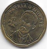 Cuba 1 Peso 2012  Km 347  Bu - Cuba