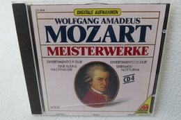 """CD """"Wolfgang Amadeus Mozart"""" Meisterwerke CD 4 - Klassik"""