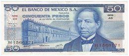 México 50 Pesos 18-7-1973 Pick 65.a UNC - México