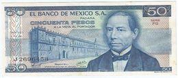 México 50 Pesos 5-7-1978 Pick 67.a UNC - Mexico