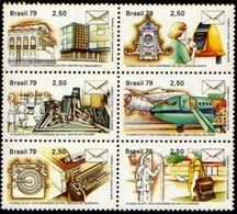 Copiar De Brasil C 1080/85 UPU União Postal Universal Correios Sextilha 1979 NNN - Brasilien