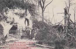 HOUTHULST  / 1914-18 /  RUINES VAN DE GROT OLV VAN LOURDES  / RUINES DE A GROTTE ND DE LOURDES - Guerra 1914-18