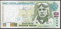 Peru 10 Nuevos Soles 2006 P179b UNC - Pérou