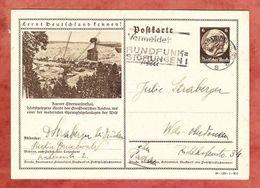 P 236 Hindenburg, Abb: Oberwiesenthal, Berlin-Charlottenburg Nach Wels 1939 (47709) - Entiers Postaux
