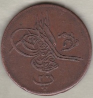 Egypte . 20 Para HA 1277 Yr 8 . Abdul Aziz  .Flower /Fleur . KM# 246 - Egypte