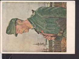 """Postkarte """" Jäger Im Norden """" ( Gebirgsjäger ) - Briefe U. Dokumente"""