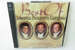"""2 CDs """"Best Of Domingo Pavarotti Carreras"""" Arien & Songs - Oper & Operette"""