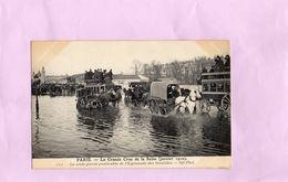 Carte Postale - PARIS - La Grande Crue De La Seine Janvier 1910 - Inondations De 1910