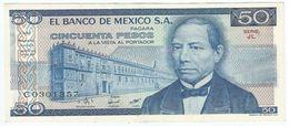México 50 Pesos 27-1-1981 Pick 73 Serie JL UNC - Mexico