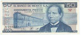 México 50 Pesos 27-1-1981 Pick 73 Serie JW UNC - México