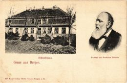 CPA Rügen. Billrothhaus/ Portrait Des Prof. Billroth. GERMANY (663155) - Ruegen