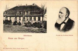 CPA Rügen. Billrothhaus/ Portrait Des Prof. Billroth. GERMANY (663155) - Rügen