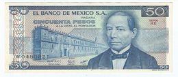 México 50 Pesos 27-1-1981 Pick 73 Serie KE-KF UNC - México