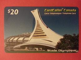 Cardcaller Canada Prepaid Stade Olympique - Télécartes