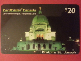 Cardcaller Canada Prepaid Oratoire St Joseph - Télécartes